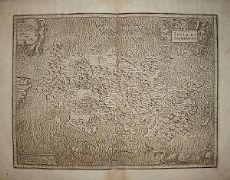 Sardegna - G. A. Magini 1620