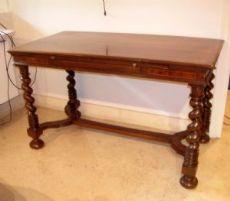 tavolo scrivania del '600