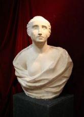 """buste en marbre antique. Epoca 1600."""""""
