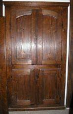 stip140 Schrankwand Tanne mit vier Türen, mis. h cm225 x Breite. 125 cm