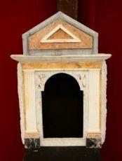 """ciboire en marbre antique. Epoca 1800."""""""
