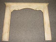 Chimenea de Liguria madera lacada