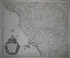 Toscana - Santini / Remondini 1776