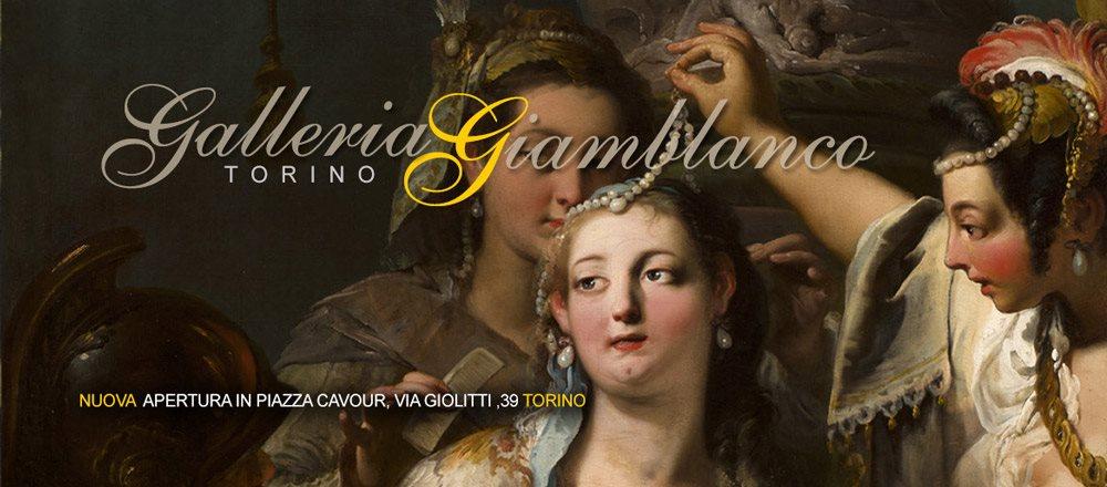 <a href='http://www.giamblanco.com' target='_blank' >Galleria Giamblanco<br />  Torino</a>