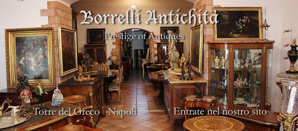 <a href='http://www.borrelliantichita.it/' target='_blank' >Borrelli Antichita'<br />  T.d. Greco  Napoli</a>