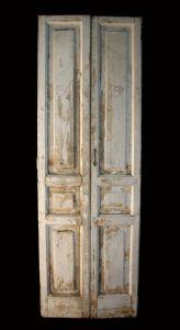 """Lacquered door. Epoca 1800."""""""