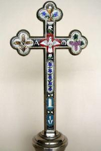 ornamenti crucifix micro-mosaico
