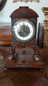 "Horloge Empire pieds léonins"""