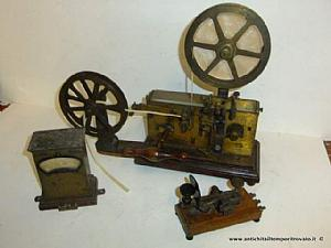 Antique telegraph F. Rosati