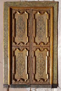 """Par de puertas lacadas y dipinte.Luigi XIV"""""""