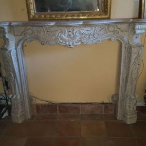 "wood fireplace"""