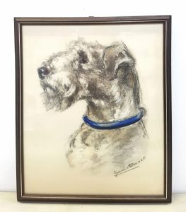 "Germaine Bouret Design ""Foxterrier 30er Jahre"""