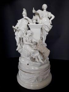 Gruppo in porcellana NOVE BASSANO, Pasquale Antonibon (1775 - 1790)