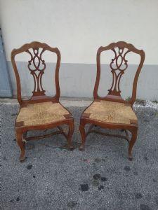 sedie del 1700 toscane
