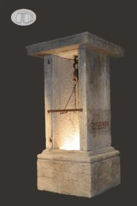 """Large light stone well"""""""