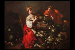 Francesco Polazzo Paolo Paoletti Vegetable and young helper""