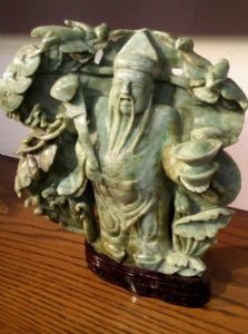 """bronze Centre de table et de porphyre"""""""