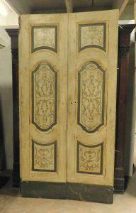 "ptl434 n.2 lacquered doors, L 118 x H 224 cm"""