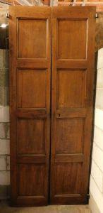 """uma porta de noz para puxar, mis. h cm 220 x 90 x 5"""""""