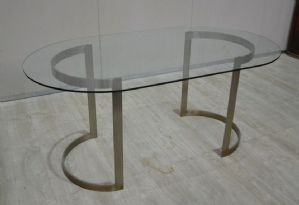 """MODERNARY TABLE WITH CRYSTAL PLATE REF. 4236"""""""