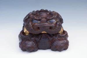 Shishi in legno Paulownia