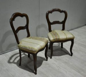 """TWO CHAIRS '800 IN NOCE REF. 4274"""""""
