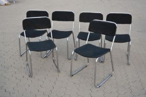 """LOT 6 YEARS CHAIRS '70 REF. 4193"""""""