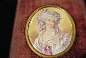 portraits in enamel on copper