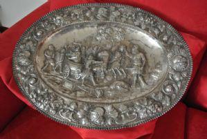 Piatto in argento
