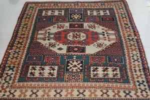 """哈萨克Karachoph  -  19世纪 - 古董 - 约。 211 x 137厘米"""""""