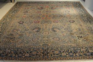 """1900年左右,西波斯的FERAHAN,约。 440 x 320厘米"""""""