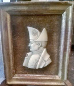 "Miniature on Ivory ""Napoleon Bonaparte"" 1803"""