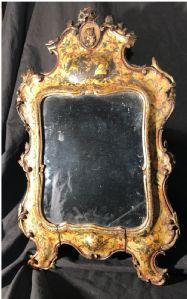 """Venetian mirror XVIII century poor art"""""""