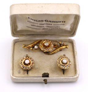 "14k Gold Borbonite Straps and Fine Beads' 800"""