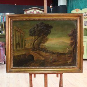 Gran pintura que representa el paisaje del siglo XX