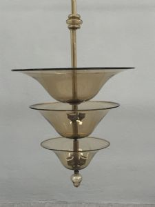 """Chandelier attributed to Zecchin and Martinuzzi"""""""