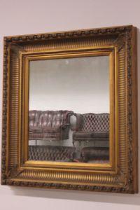 Grande importante specchiera in legno fine '900 antique old mirror wood
