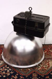 Fabulous industrial lamp 70s / 80s perfect for modern furnishings.""
