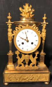 """Gilded bronze French Empire Watch"""""""