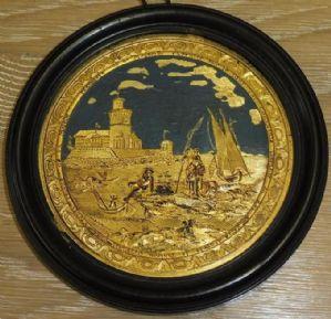 "Marseille medallion / miniature compigné"""