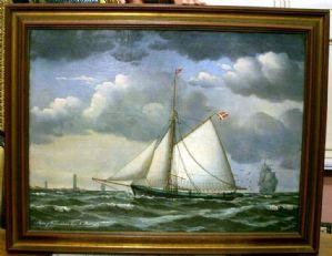Veliero in Navigazione 1876