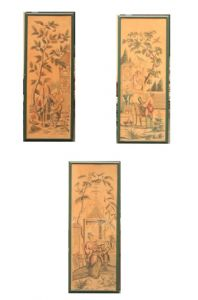 Group of 3 paintings on Orientalist subject""