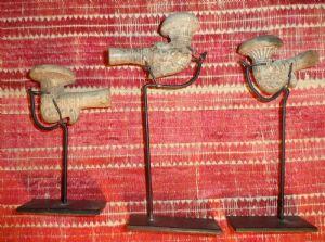 03 Rarissime pipe da oppio in ceramica, primo millennio avanti Cristo