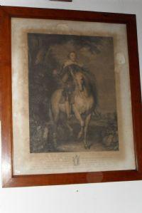 Gen,le Moncada a cavallo