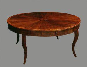 Tavoli tondi antichi e tavoli ovali antichi mobili antichi - Tavolo tondo apribile ...