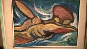 """Gianni Bertini """" Nuotatore """"  1947"""