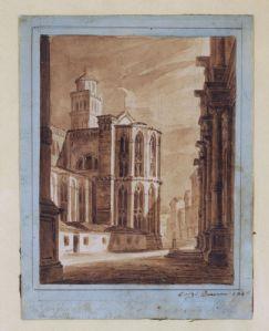 Luigi Querena , Venezia ( 1824-1887)
