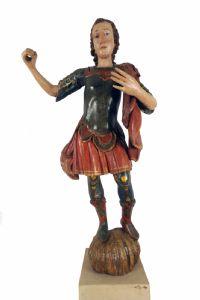 S.Michele Arcangelo , scultura Veneziana del XVII secolo