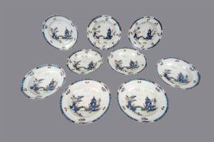 Cozzi Geminiano piatti , Venezia ultimo quarto del XVIII secolo