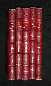 L'Arte in Italia - 1869-73 (5 Vol.)